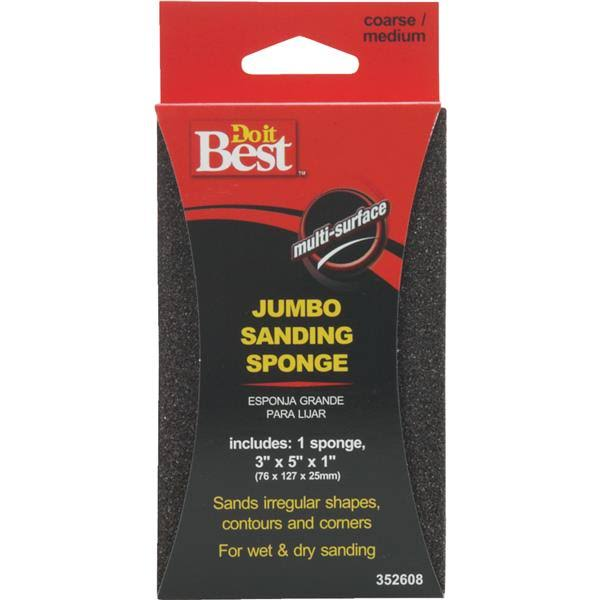 Do It Best Sanding Sponge - 3pk