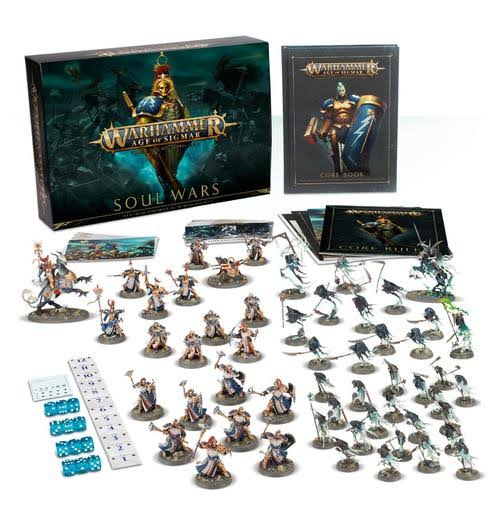 Games Workshop Warhammer Age of Sigmar Soul Wars Miniatures