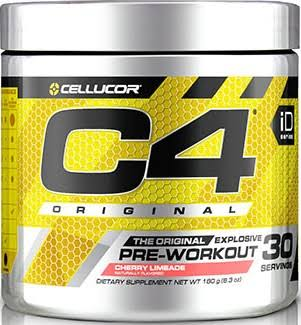 Cellucor C4 Original Explosive Pre-Workout Supplement - Cherry Limeade, 30 Servings, 6.3oz