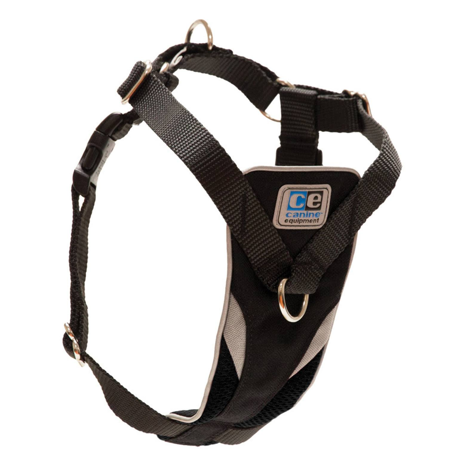 Canine Equipment Ultimate Control Dog Harness - Black, Large