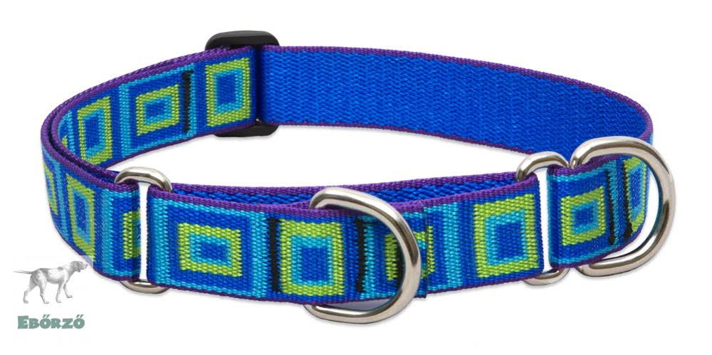 Lupine Combo Dog Collar For Large Dogs - Sea Glass