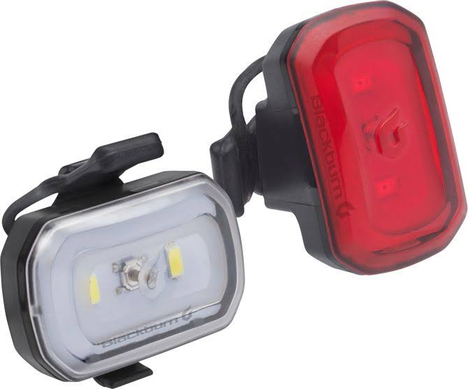 Blackburn Click USB Rechargeable Front & Rear Light Set