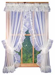 Pink Ruffle Curtain Topper by Priscilla Curtains Also With A Affordable Curtains Also With A