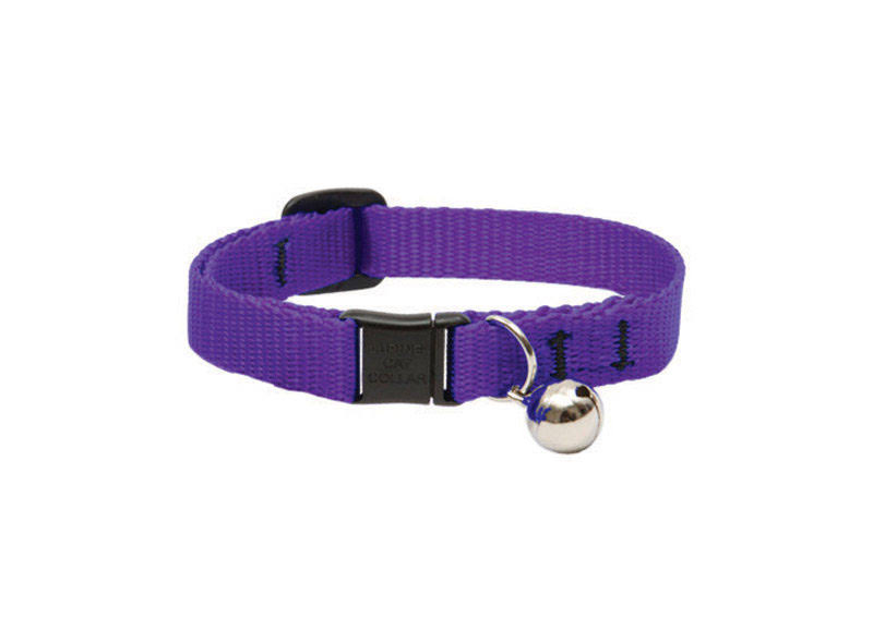 Lupine Cat Safety Collar - Purple, 8-12in