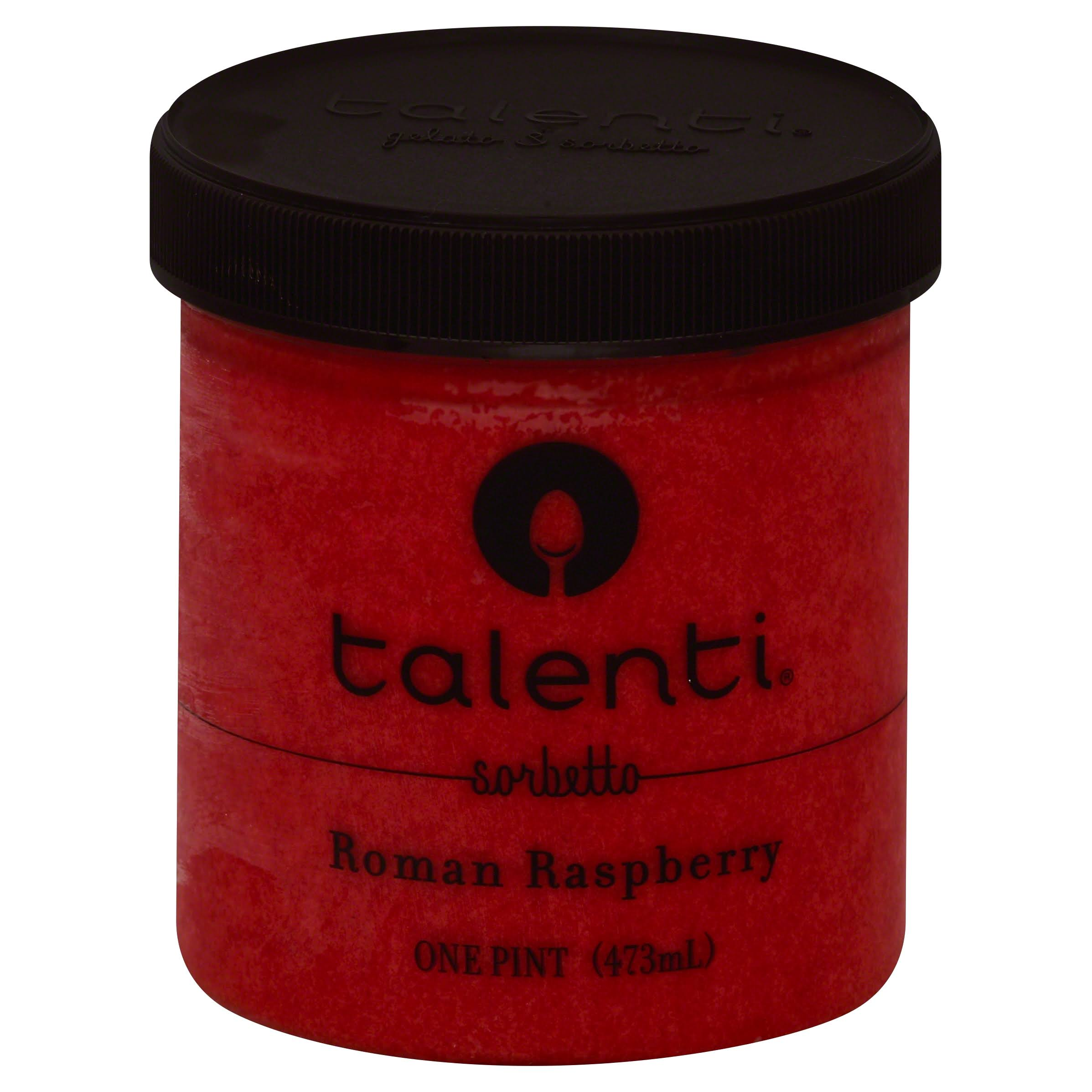 Talenti Sorbetto Ice Cream - Roman Raspberry, 1pt