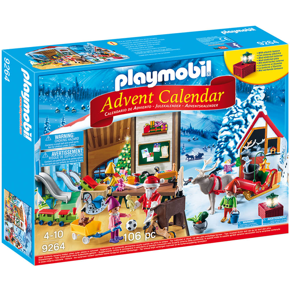 Playmobil Advent Calendar Santa's Workshop Toy
