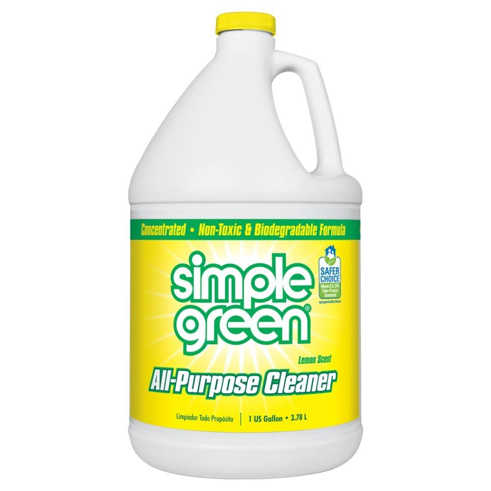 Simple Green Concentrated All Purpose Cleaner - Lemon, 1 Gal