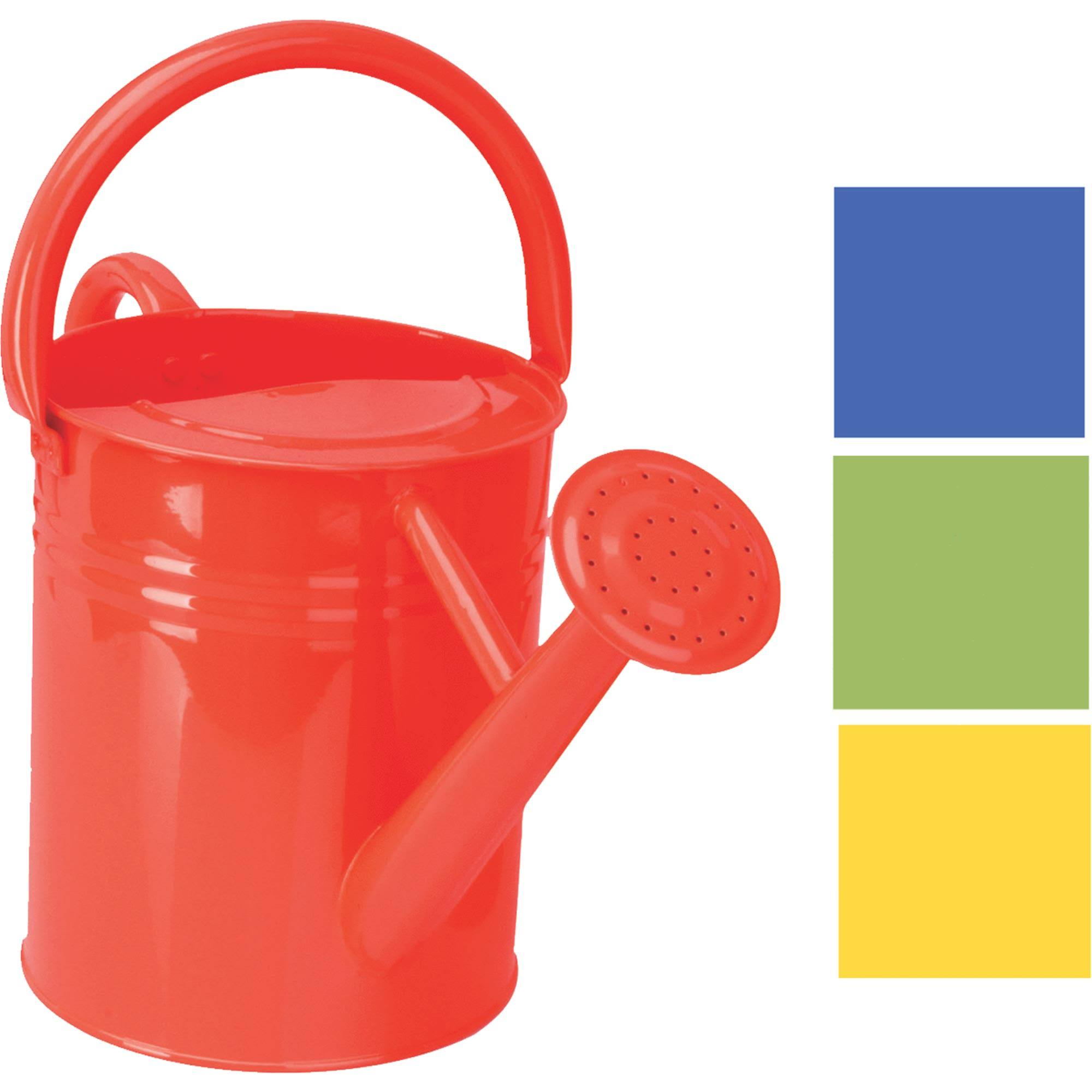 Panacea Metal Traditional Painted Watering Can - 1 Gallon, Colors may Vary
