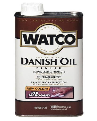 Watco Danish Oil - Red Mahogany