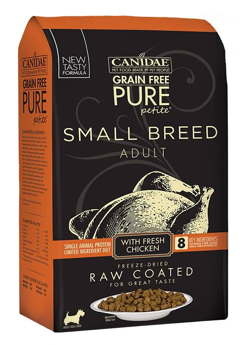 Canidae Pure Petite Small Breed Chicken Dry Dog Food, 10 lb