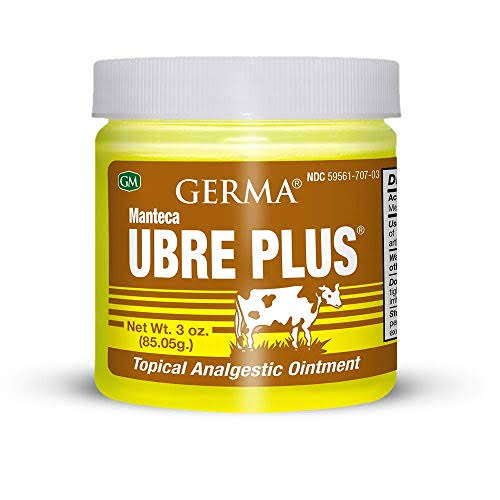 Germa Manteca Ubre Plus Analgesic Ointment - 3oz