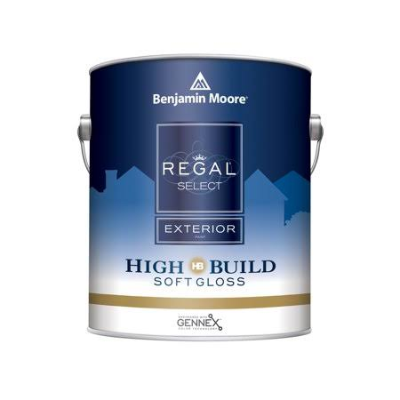 Benjamin Moore Regal Select Exterior Soft Gloss High Build White Gal