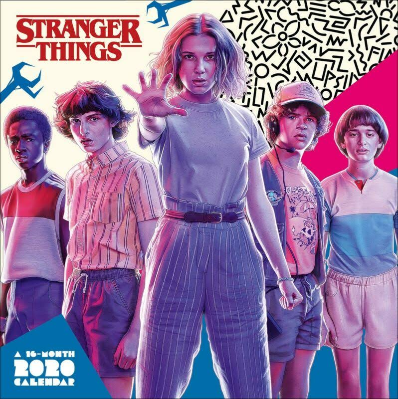 Trends International Stranger Things 2020 Wall Calendar