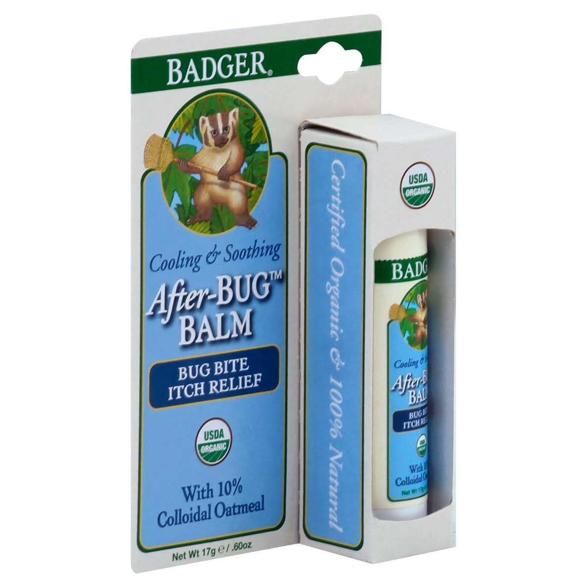 Badger After-Bug Balm Itch Relief Stick