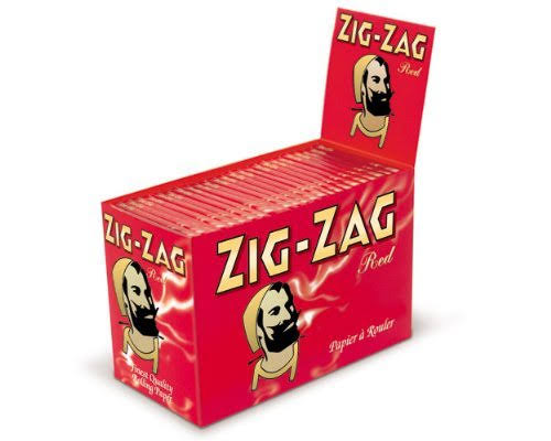 Zig Zag Red Papers