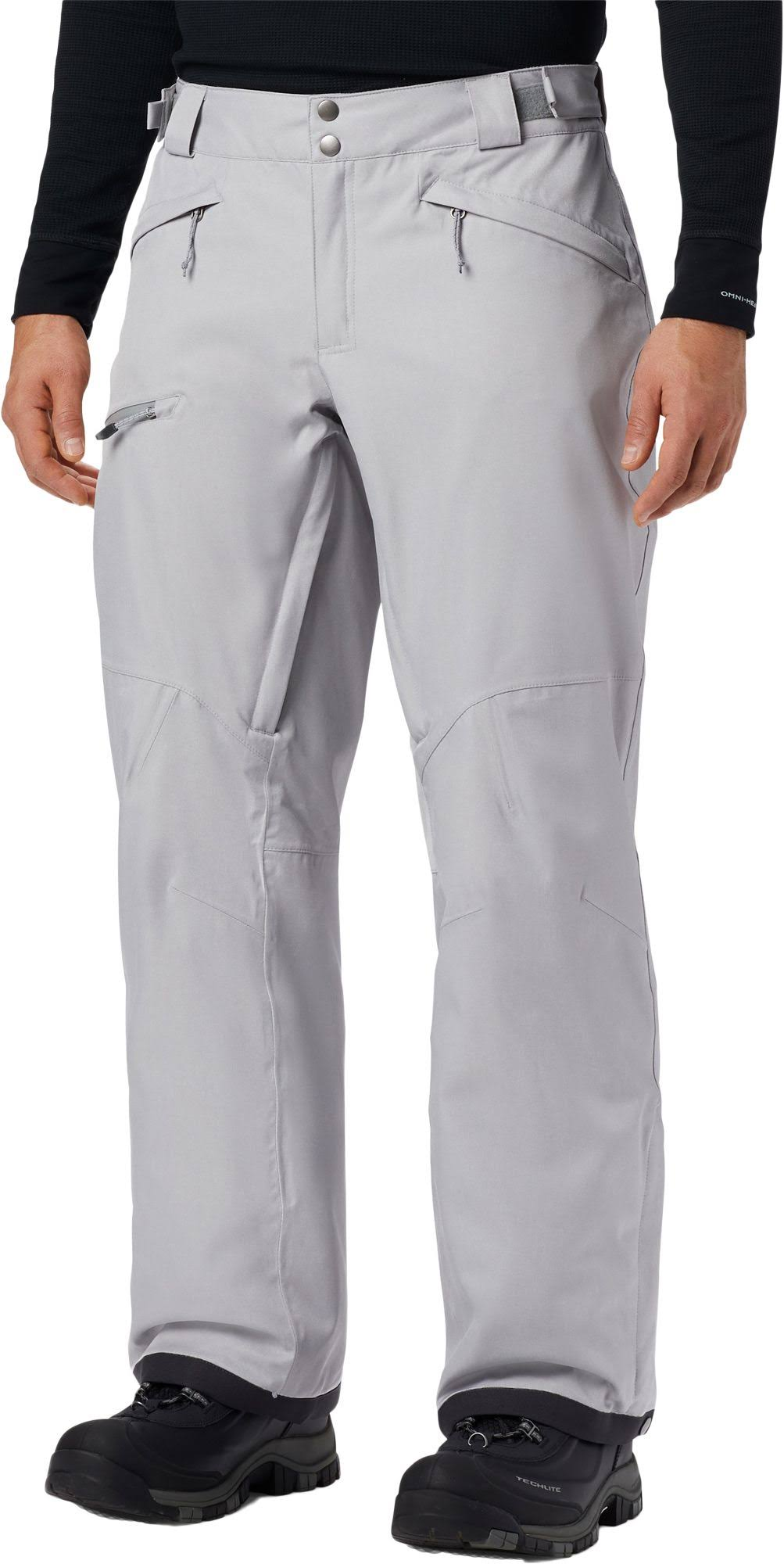 Columbia Men's CUSHMAN Crest Pants 31.5 inch, Size: 2XL, Gray
