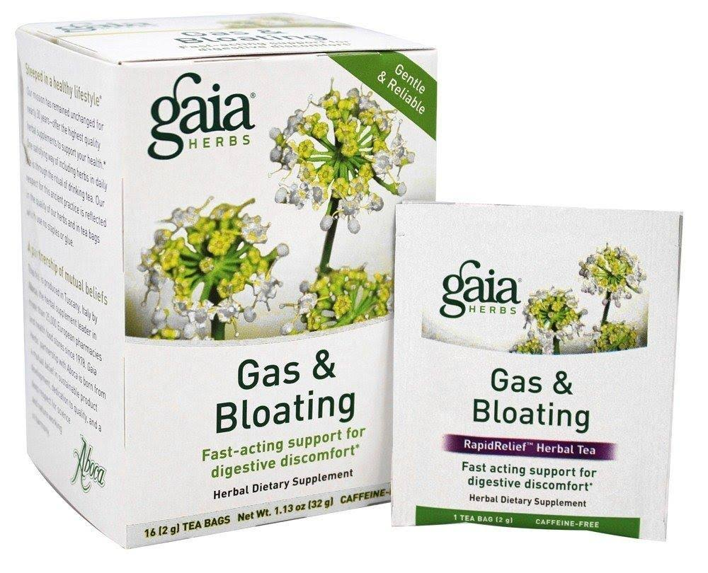 Gaia Herbs Gas & Bloating Herbal Tea