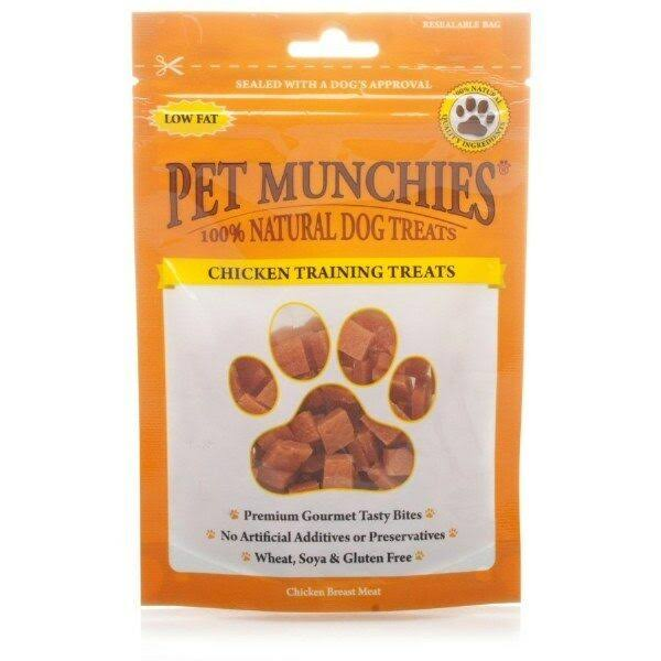 Pet Munchies Dog Training Treats - Chicken, 150g