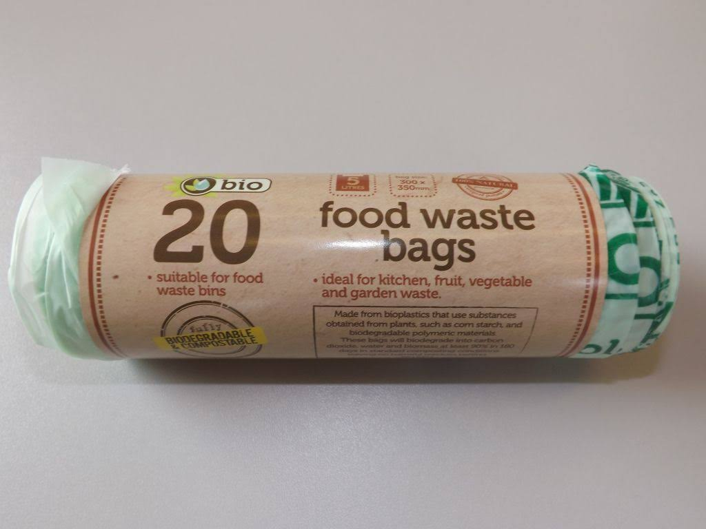TidyZ Food Waste Bags - 20pcs, 5l