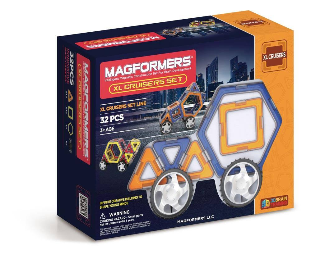 Magformers XL Cruisers Building Set - 32pc