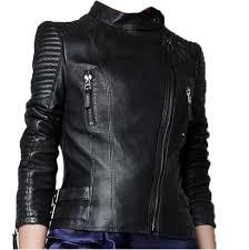 faux zip up short biker jacket coat bomber outerwear motorcycle