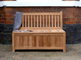 Build Outdoor Storage Bench by Wood Outdoor Storage Bench Waterproof Great Outdoor Storage