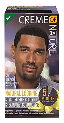 Creme of Nature Men's Moisture Rich Permanent Hair Color - Jet Black