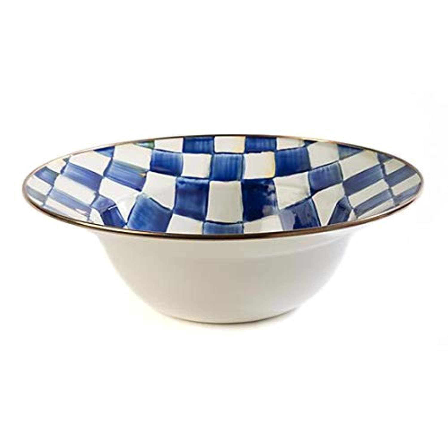 MacKenzie-Childs - Royal Check Serving Bowl