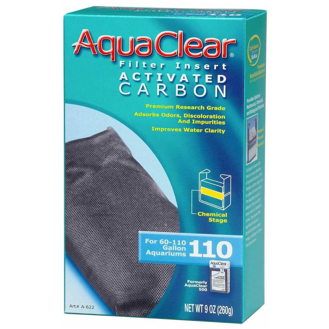 AquaClear Activated Carbon Filter Insert - 9 oz