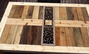 Build Your Own Outdoor Patio Table by Ana White Modified Outdoor Pallet Patio Table Diy Projects