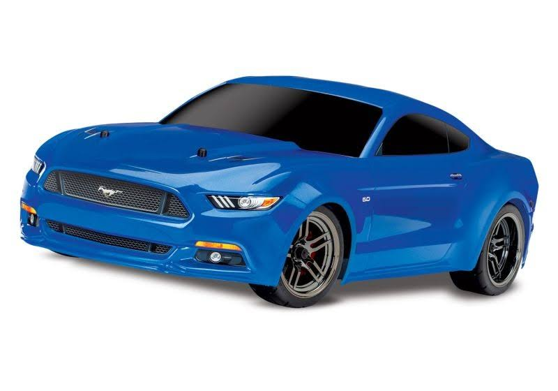 Traxxas 4-TEC 2.0 Ford Mustang GT RTR AWD Supercar Blue