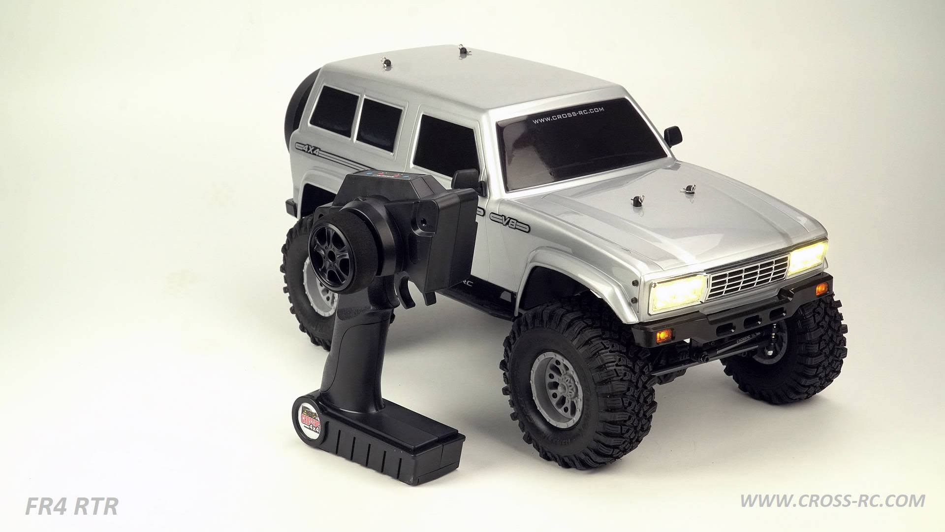 Cross RC - FR4 1/10 Demon 4x4 Rtr; No Battery or Charger - Gunmetal
