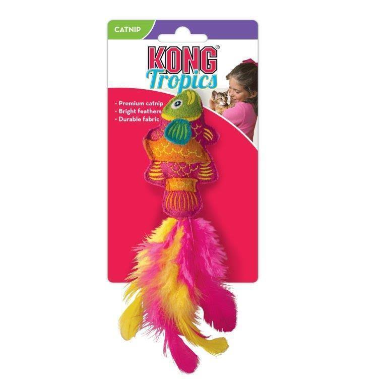 Kong Tropics Fish Toy Catnip Toy