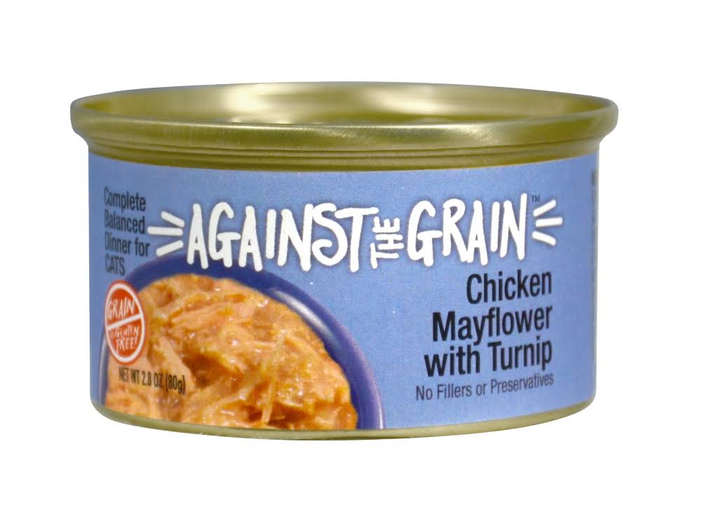 Against The Grain Farmers Market Grain Free Chicken & Polyhauaii Berry Canned Cat Food - 2.8-oz, Case of 24