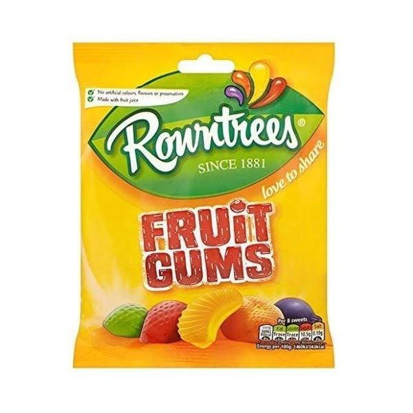Rowntrees Fruit Gums - 140gm