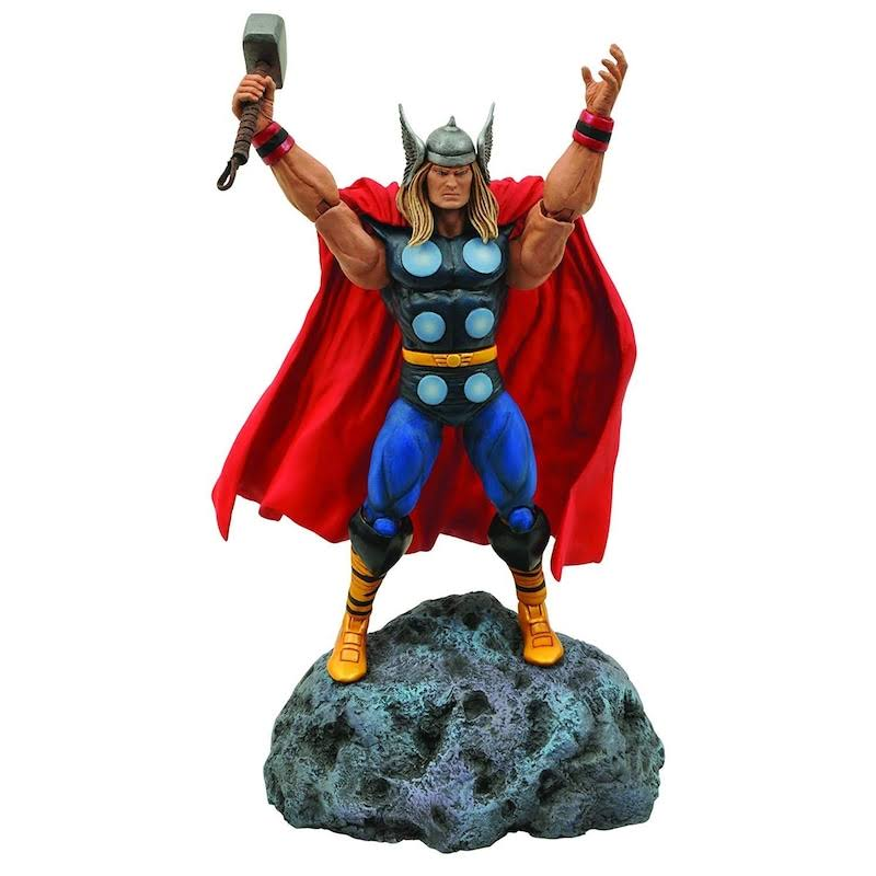 Diamond Select Toys Marvel Classic Action Figure Toy - Thor