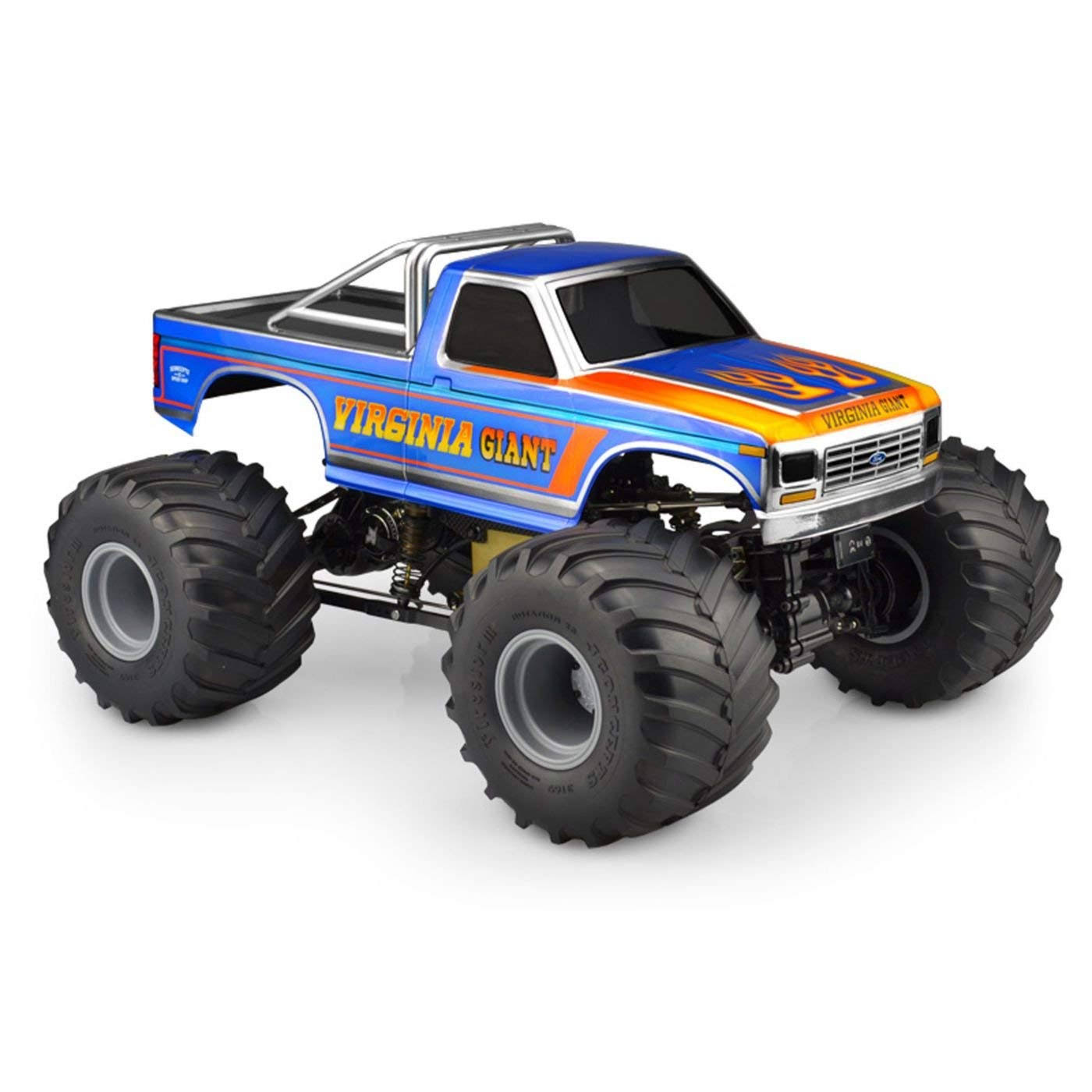 JConcepts 1984 Ford F 250 MT Scale Body, for Custom 1/10 Scale Monster