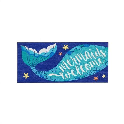 Evergreen Mermaids Welcome Sassafras Switch Mat