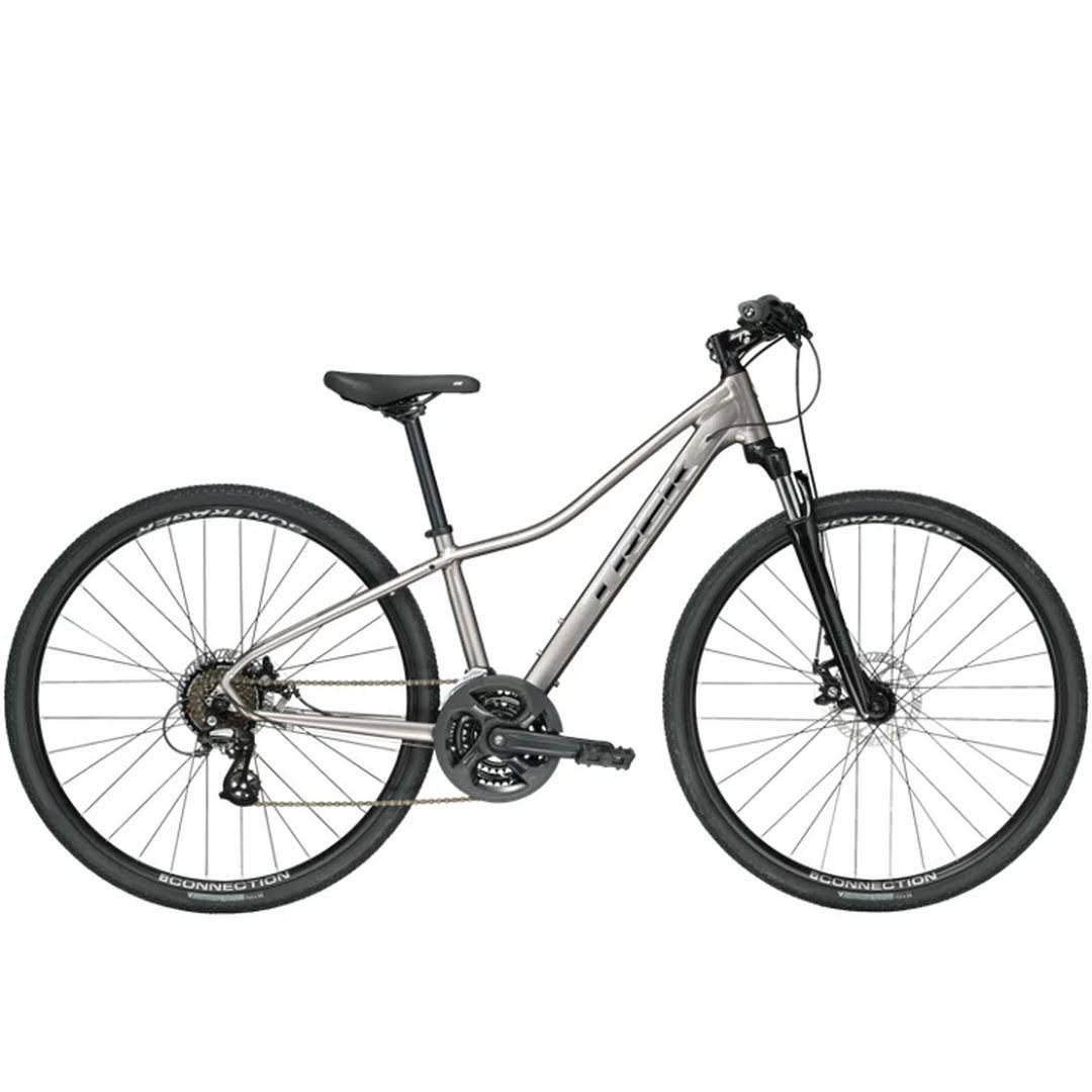Trek Dual Sport 1 Women's Bicycle - Metallic Gunmetal, Small