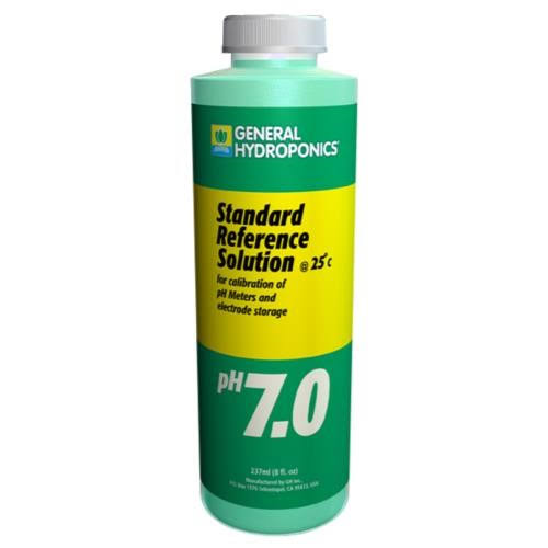 General Hydroponics Ph 7.0 Calibration Solution - 8oz