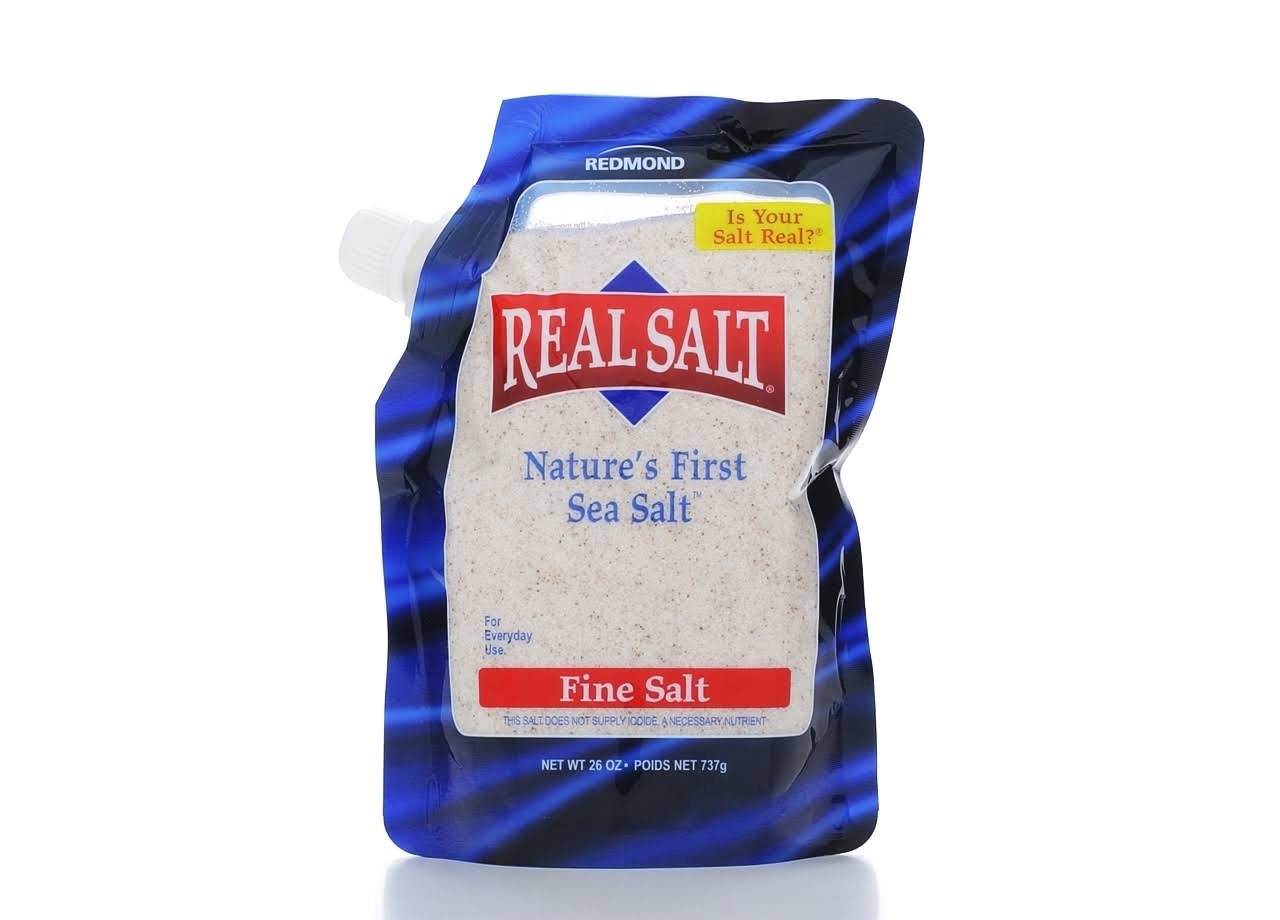 Real Salt Sea Salt Pouch - 26oz