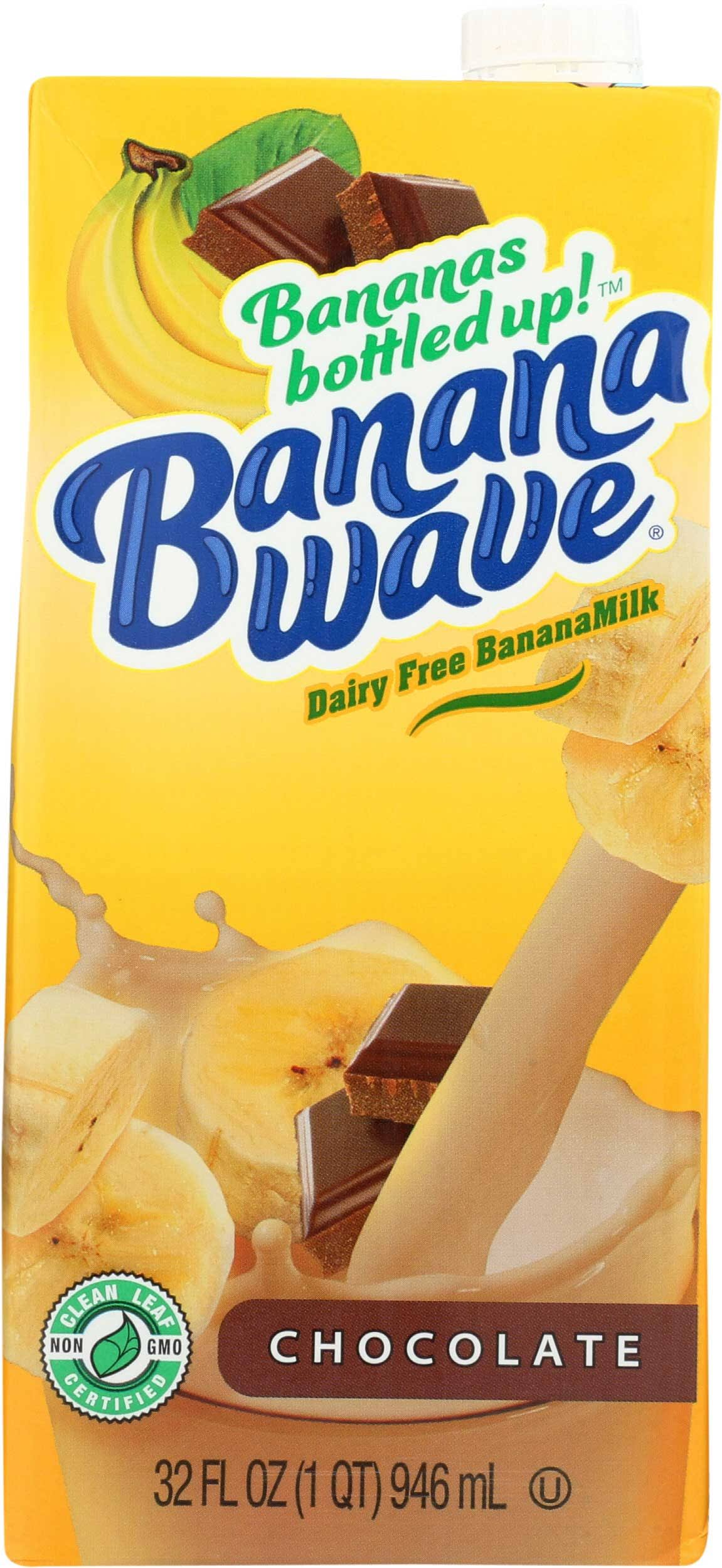 Banana Wave Dairy Free Banana Milk