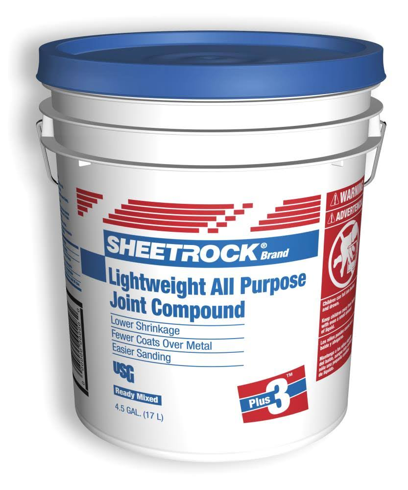 United States Gypsum Company Sheetrock Plus 3 Joint Compound - 17l