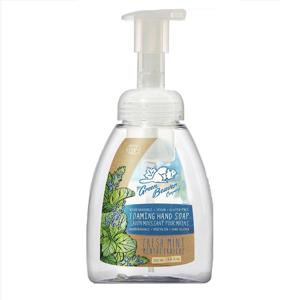 Green Beaver Fresh Mint Foaming Hand Wash 8.40 Ounces