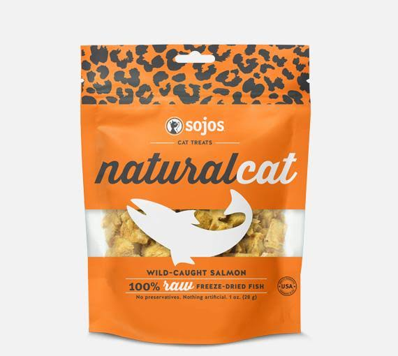 Sojos Natural Salmon Cat Treats (1 oz)
