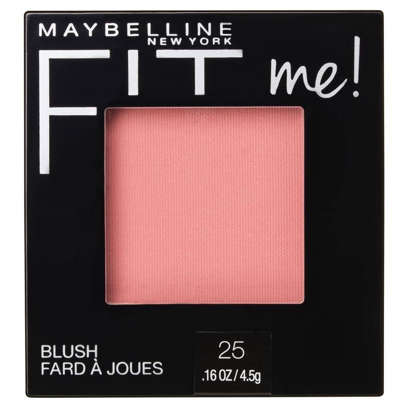 Maybelline Fit Me Blush - 25 Pink, 0.16oz