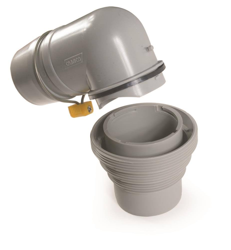 Camco Easy Slip Sewer Elbow and 4-in-1 Adapter
