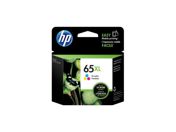 HP N9K03AN 65XL High Yield Original Ink Cartridge - Tri-color