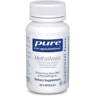 Pure Encapsulations Methylassist Hypoallergenic Supplement - 90 Capsules