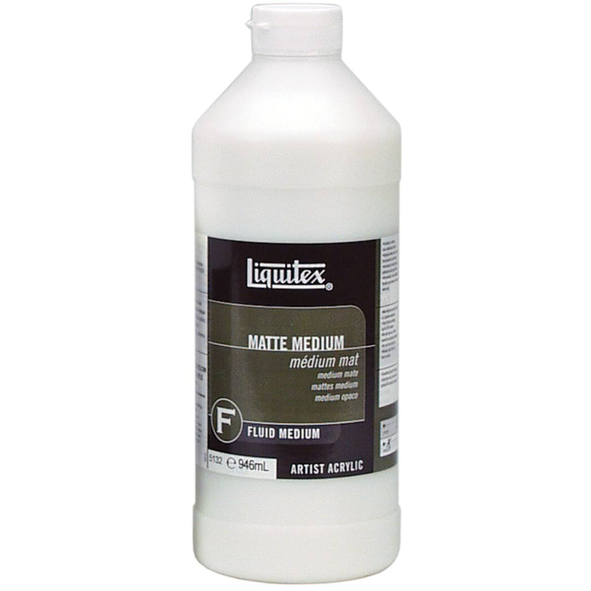 Liquitex Matte Acrylic Fluid Medium - 950ml